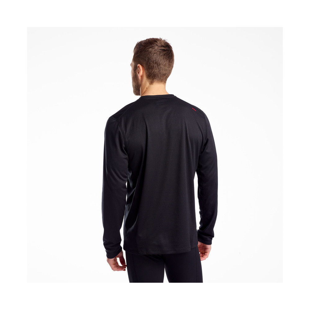 Футболка Saucony STOPWATCH LONG SLEEVE